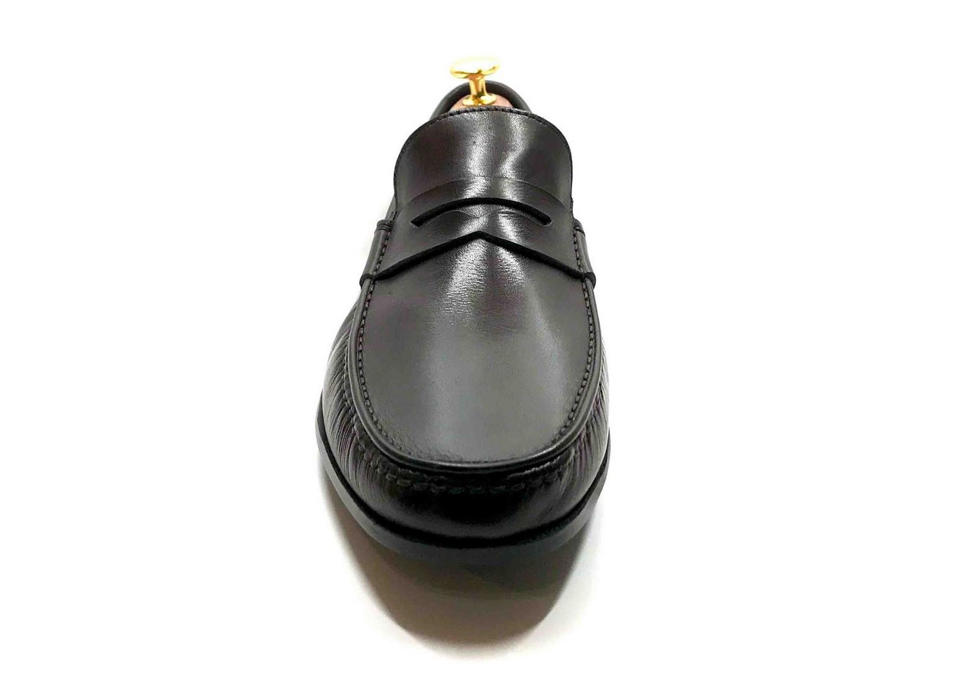 Comfort Loafer with removable insoles dark Brown leather