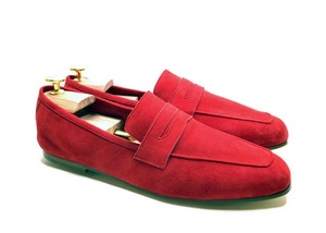 Tasca Red Suede