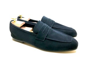 Tasca Ink Blue Suede