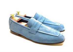 Tasca light Blue Suede
