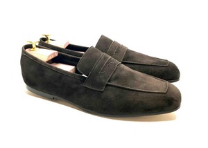 Tasca dark Brown Suede
